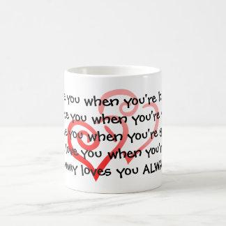 KRW Mommy Loves You Always Morphing Mug