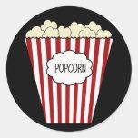 KRW Movie Theater Popcorn Sticker