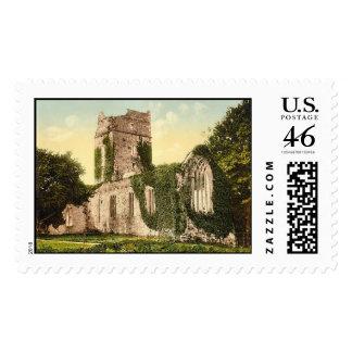KRW Muckross Abbey Kilarney Kerry Vintage Stamp