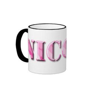 KRW Nicole Camo Mug