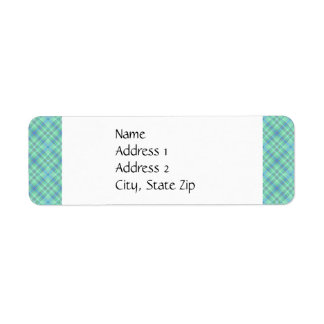KRW Ocean Blue Custom Return Address Label