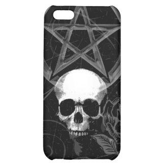 KRW Pagan Skull Grunge i iPhone 5C Covers