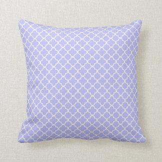 KRW Park Avenue Blue Print Decor Pillow