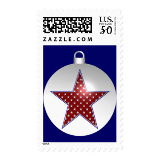 KRW Patriotic Holiday Ornament Stamp