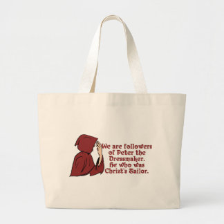 KRW Peter the Dressmaker Funny Movie Quote Large Tote Bag