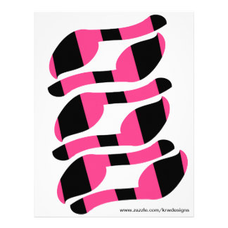 KRW Pin the Tail on the Zebra Tails Set of 6 Flyer