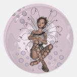 KRW Pink Bubble Fairy Sticker