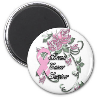 KRW Pink Ribbon survivor Magnet
