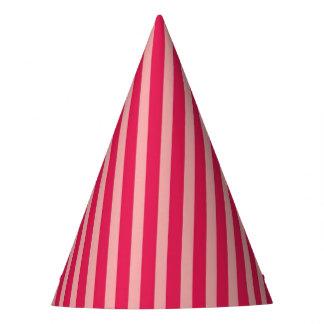 KRW Pink Stripe Party Hat