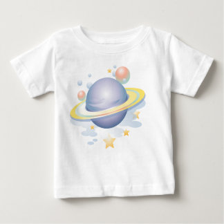 KRW Planets and Stars Baby T-Shirt