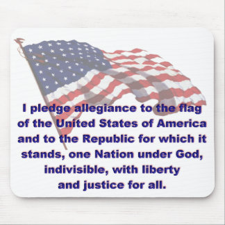 KRW Pledge of Allegiance Mousepad