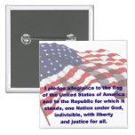 KRW Pledge of Allegiance Pin