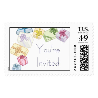 KRW Pretty Presents Custom Wedding Stamp