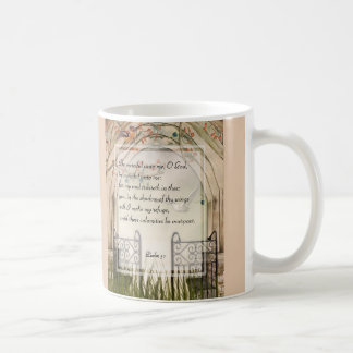 KRW Psalm 57 Be Merciful Unto Me Oh God Coffee Mug