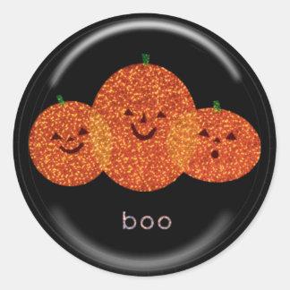 KRW Pumpkin Trio Halloween Sticker