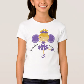 KRW Purple Cheerleader Party T-Shirt