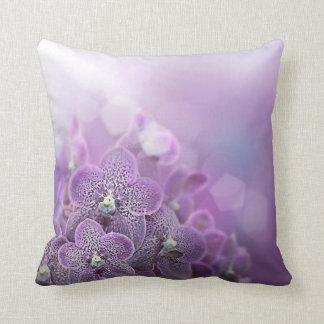 KRW Purple Posies Decor Pillow