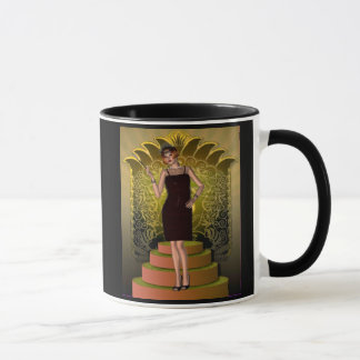 KRW Putting on the Ritz Deco Flapper II Mug