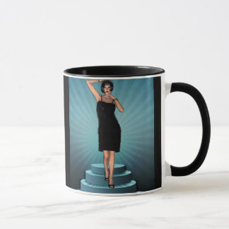 KRW Putting on the Ritz Deco Flapper Mug