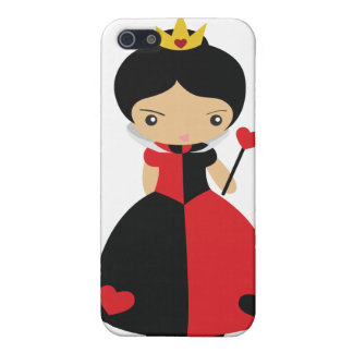 KRW Queen of Hearts  Cases For iPhone 5