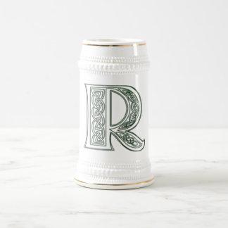 KRW - R - Celtic Monogrammed Stein 18 Oz Beer Stein