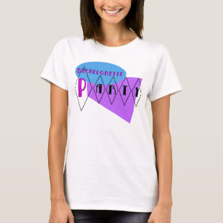 KRW Retro Bachelorette Party Purple T-Shirt