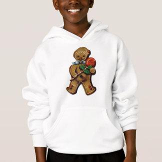 KRW Retro Gingerbreadman Kid's Hoodie