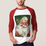 KRW Retro Santa Raglan Shirt