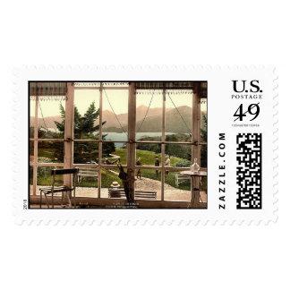 KRW Roche Royal Hotel Vintage Postcard Stamp