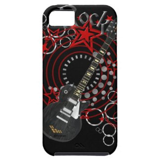 KRW Rock Star Guitar Grunge iPhone Cover iPhone 5 Cover