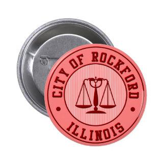 KRW Rockford Peach Baseball Team Pin