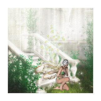 KRW Sacred Ground Fairy Fantasy Canvas Canvas Print