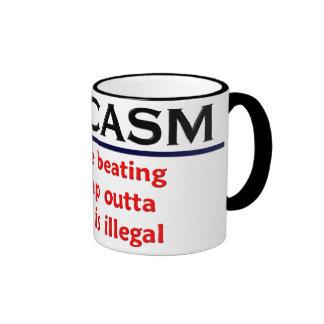 KRW Sarcasm Funny Joke Coffee Mugs
