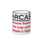 KRW Sarcasm Funny Joke Ringer Mug