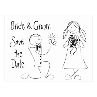 KRW Save the Date Custom Wedding Card