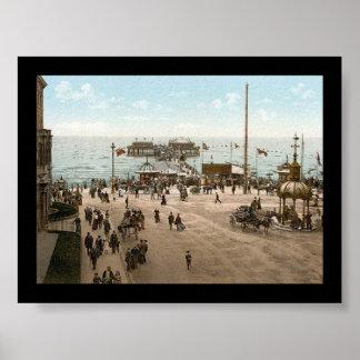 KRW Seaside Blackpool England Poster