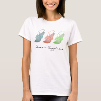 KRW Shoes Equal Happiness Fun T-Shirt