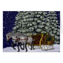KRW Sleigh Ride Holiday Card