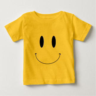 KRW Smiley Face Custom Color Baby T-Shirt