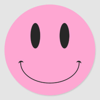 KRW Smiley Face Custom Color Sticker