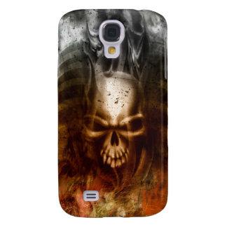 KRW Smoldering Skull i Galaxy S4 Cover