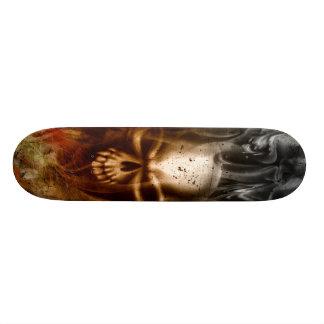 KRW Smoldering Skull Skateboard Deck