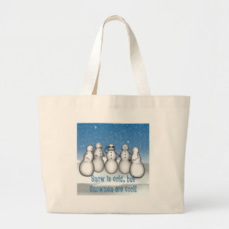 KRW Snowmen are Cool Tote Bag