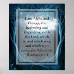 KRW soy la alfa y el poster de Omega