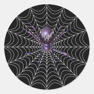 KRW Spider in the Web Halloween Sticker