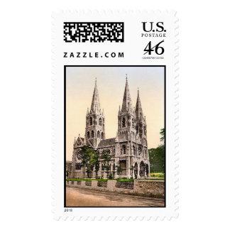 KRW St Finbars Cathedral Cork Ireland Vintage Stam Stamps