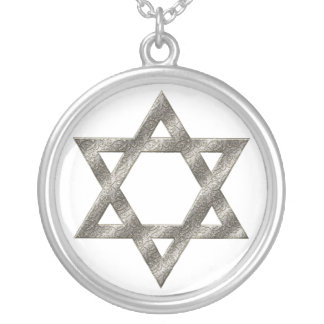 KRW Star of David Sterling Silver Necklace