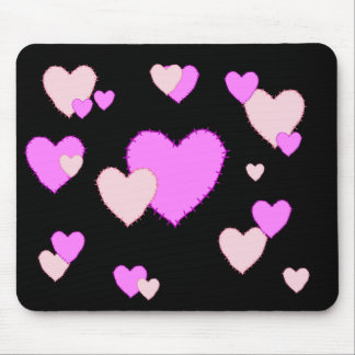 KRW Stitched Hearts Mousepad