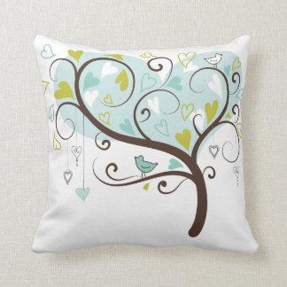 KRW Stylized Love Tree Decor Pillow