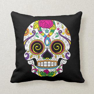 KRW Sugar Skull Decor Pillow